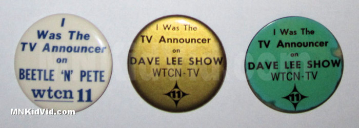 The Dave Lee Show - Pinback buttons